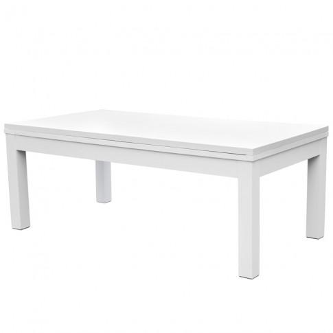 achat table a manger billard gris blanc