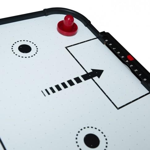 achat-table-de-air-hockey-plastique-pieds-bois-noir