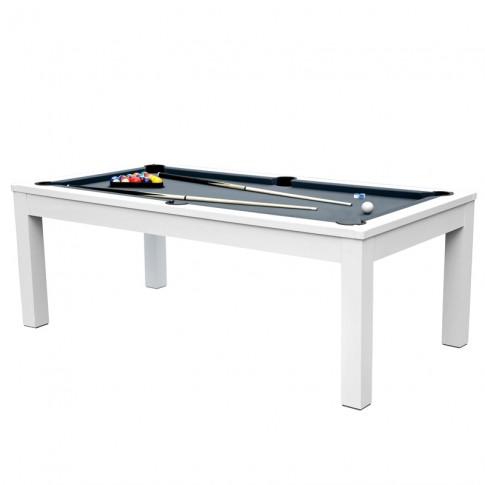 acheter billard table gris et blanc