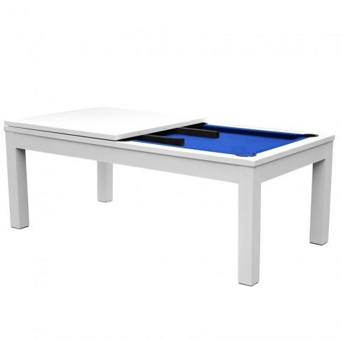 acheter billard table pratique bleu fonce
