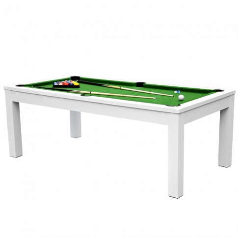 acheter billard table verte et blanche