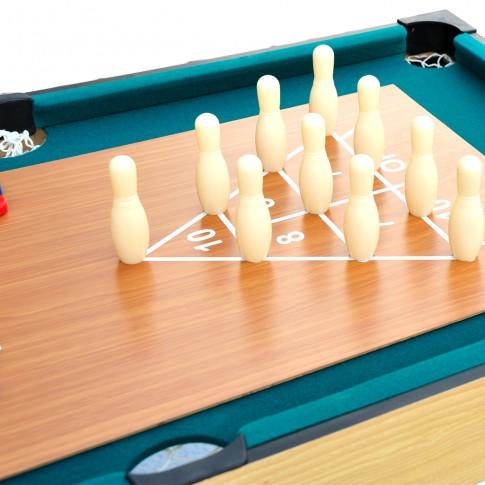 acheter table bois multi jeux pas cher