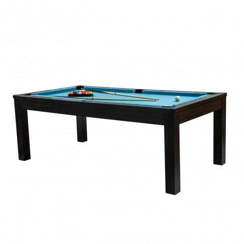 acheter table de billard tapis bleu clair