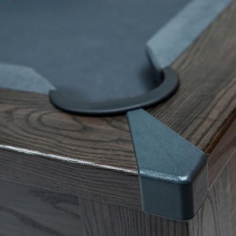 acheter table de billard en bois fonce