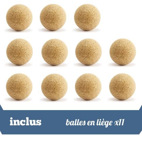 pack 11 balles liege