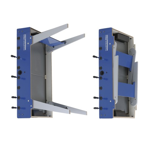 buy blue folding football table