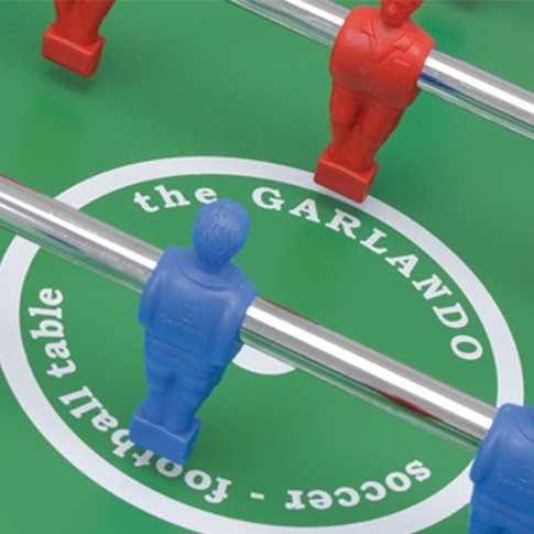 buy blue football table easy to put away