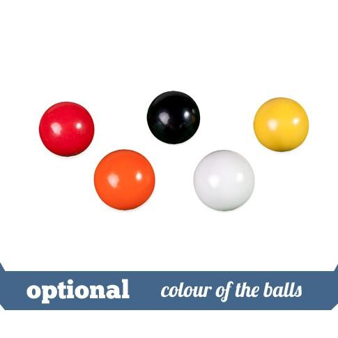 option colour of the balls