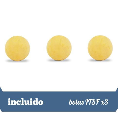 3 bolas ITSF demarcadas